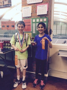 Westfield Indoor Tennis-Tournament -12u- Finals- 2015