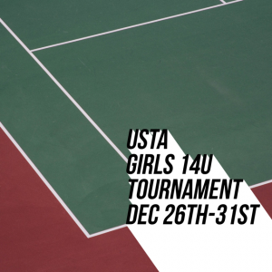 USTA GIRLS TENNIS IN New JErsey