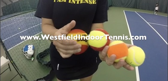 All about different kinds of tennis balls